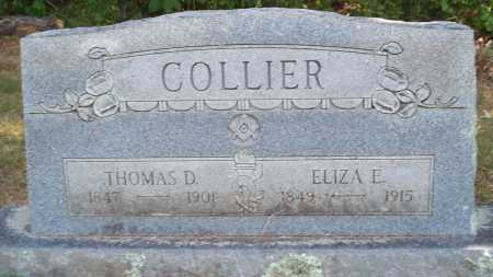 COLLIER, ELIZA E. - Sebastian County, Arkansas | ELIZA E. COLLIER - Arkansas Gravestone Photos