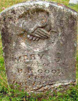 COOK, MARY J. - Sebastian County, Arkansas | MARY J. COOK - Arkansas Gravestone Photos