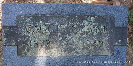 COWNE, MAGGIE - Sebastian County, Arkansas | MAGGIE COWNE - Arkansas Gravestone Photos