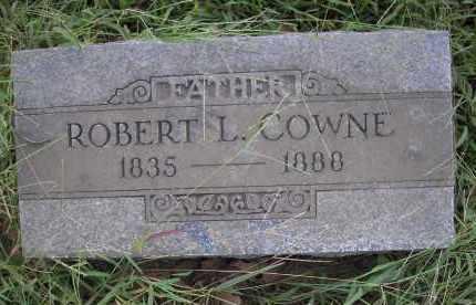 COWNE, ROBERT L. - Sebastian County, Arkansas   ROBERT L. COWNE - Arkansas Gravestone Photos