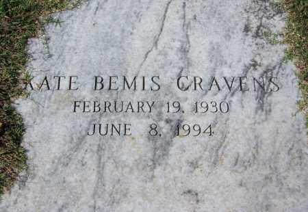 BEMIS CRAVENS, KATE - Sebastian County, Arkansas | KATE BEMIS CRAVENS - Arkansas Gravestone Photos
