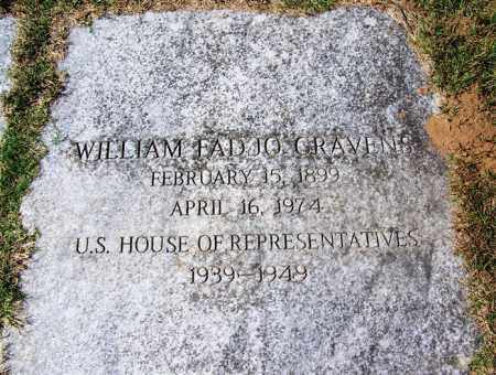 CRAVENS (FAMOUS VETERAN WWI) (, WILLIAM FADJO - Sebastian County, Arkansas | WILLIAM FADJO CRAVENS (FAMOUS VETERAN WWI) ( - Arkansas Gravestone Photos