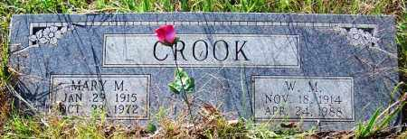 CROOK, W. M. - Sebastian County, Arkansas | W. M. CROOK - Arkansas Gravestone Photos