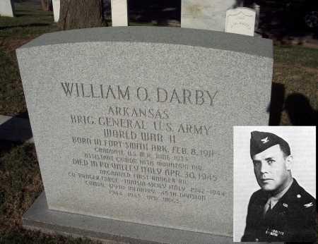 DARBY (VETERAN WWII FAMOUS), WILLIAM ORLANDO - Sebastian County, Arkansas | WILLIAM ORLANDO DARBY (VETERAN WWII FAMOUS) - Arkansas Gravestone Photos