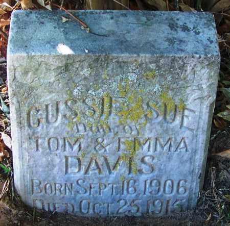 DAVIS, GUSSIE SUE - Sebastian County, Arkansas | GUSSIE SUE DAVIS - Arkansas Gravestone Photos