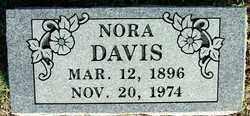 DAVIS, NORA - Sebastian County, Arkansas | NORA DAVIS - Arkansas Gravestone Photos