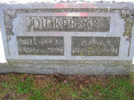 DICKERSON, ELONA R. - Sebastian County, Arkansas | ELONA R. DICKERSON - Arkansas Gravestone Photos