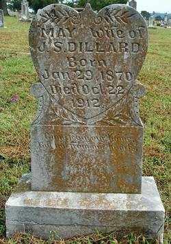 DILLARD, MAY - Sebastian County, Arkansas | MAY DILLARD - Arkansas Gravestone Photos