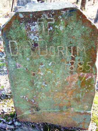 DORUM, D B - Sebastian County, Arkansas | D B DORUM - Arkansas Gravestone Photos