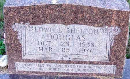 DOUGLAS, LOWELL SHELTON - Sebastian County, Arkansas | LOWELL SHELTON DOUGLAS - Arkansas Gravestone Photos