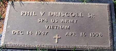 DRISCOLL, SR (VETERAN VIET), PHIL V - Sebastian County, Arkansas | PHIL V DRISCOLL, SR (VETERAN VIET) - Arkansas Gravestone Photos