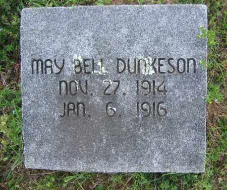 DUNKESON, MAY BELL - Sebastian County, Arkansas | MAY BELL DUNKESON - Arkansas Gravestone Photos