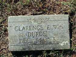 DURDEN, CLARENCE ELWIN - Sebastian County, Arkansas | CLARENCE ELWIN DURDEN - Arkansas Gravestone Photos