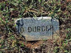 DURDEN, D. - Sebastian County, Arkansas   D. DURDEN - Arkansas Gravestone Photos