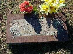 DURDEN, JOHN JOSEPH - Sebastian County, Arkansas | JOHN JOSEPH DURDEN - Arkansas Gravestone Photos
