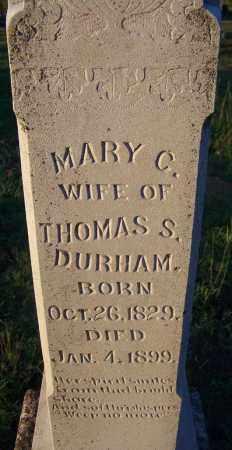 DURHAM, MARY C - Sebastian County, Arkansas | MARY C DURHAM - Arkansas Gravestone Photos