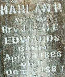 EDWARDS, HARLAN P(2) - Sebastian County, Arkansas | HARLAN P(2) EDWARDS - Arkansas Gravestone Photos