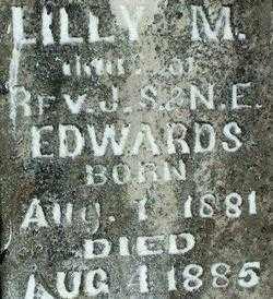 EDWARDS, LILY M - Sebastian County, Arkansas | LILY M EDWARDS - Arkansas Gravestone Photos