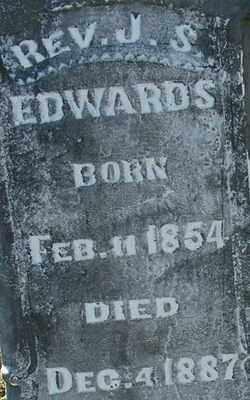 EDWARDS, REV J S (2) - Sebastian County, Arkansas   REV J S (2) EDWARDS - Arkansas Gravestone Photos