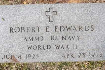 EDWARDS (VETERAN WWII), ROBERT E - Sebastian County, Arkansas | ROBERT E EDWARDS (VETERAN WWII) - Arkansas Gravestone Photos