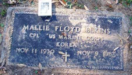 ELKINS (VETERAN KOR), MALLIE FLOYD - Sebastian County, Arkansas | MALLIE FLOYD ELKINS (VETERAN KOR) - Arkansas Gravestone Photos