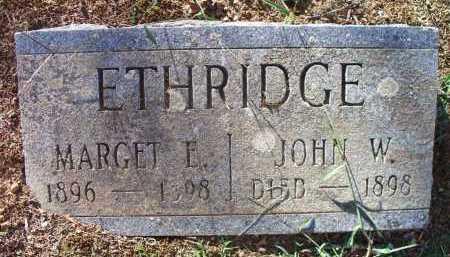 ETHRIDGE, JOHN W - Sebastian County, Arkansas   JOHN W ETHRIDGE - Arkansas Gravestone Photos