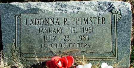FEIMSTER, LADONNA R - Sebastian County, Arkansas | LADONNA R FEIMSTER - Arkansas Gravestone Photos