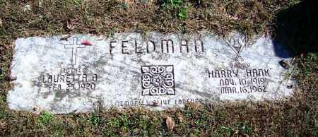 "FELDMAN (FAMOUS), HARRY ""HANK"" - Sebastian County, Arkansas 