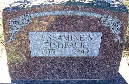 FISHBACK, JESSAMINE S - Sebastian County, Arkansas | JESSAMINE S FISHBACK - Arkansas Gravestone Photos