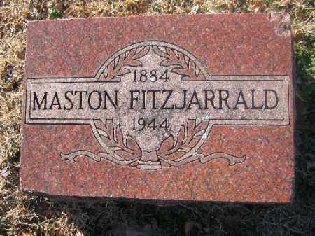 FITZJARRALD, MASTON - Sebastian County, Arkansas | MASTON FITZJARRALD - Arkansas Gravestone Photos