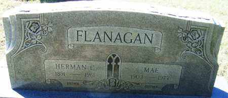 FLANAGAN, MAE - Sebastian County, Arkansas | MAE FLANAGAN - Arkansas Gravestone Photos