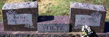FOLTZ, MILDRED - Sebastian County, Arkansas | MILDRED FOLTZ - Arkansas Gravestone Photos