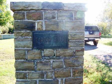 *FOREST PARK, CEMETERY GATE - Sebastian County, Arkansas   CEMETERY GATE *FOREST PARK - Arkansas Gravestone Photos
