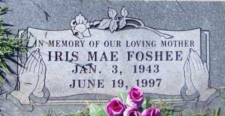 FOSHEE, IRIS MAE - Sebastian County, Arkansas | IRIS MAE FOSHEE - Arkansas Gravestone Photos
