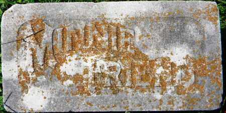 FRIEND, MINNIE - Sebastian County, Arkansas | MINNIE FRIEND - Arkansas Gravestone Photos