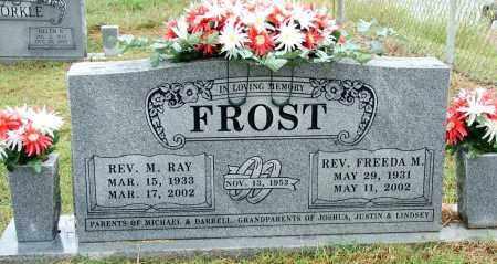 FROST, REV M RAY (2) - Sebastian County, Arkansas | REV M RAY (2) FROST - Arkansas Gravestone Photos