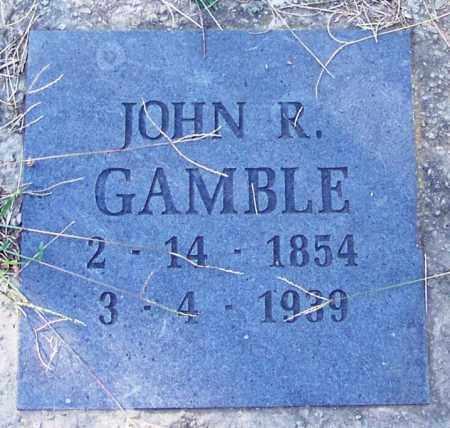 GAMBLE, JOHN R - Sebastian County, Arkansas | JOHN R GAMBLE - Arkansas Gravestone Photos