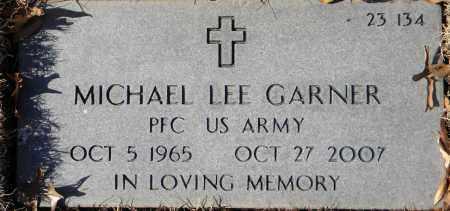 GARNER  (VETERAN), MICHAEL LEE - Sebastian County, Arkansas   MICHAEL LEE GARNER  (VETERAN) - Arkansas Gravestone Photos