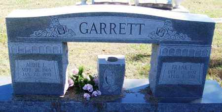 GARRETT, AUDIE L - Sebastian County, Arkansas | AUDIE L GARRETT - Arkansas Gravestone Photos