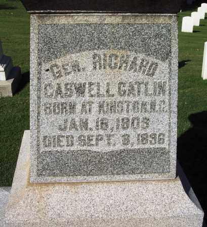 GATLIN (VETERAN; FAMOUS), RICHARD CASWELL - Sebastian County, Arkansas   RICHARD CASWELL GATLIN (VETERAN; FAMOUS) - Arkansas Gravestone Photos