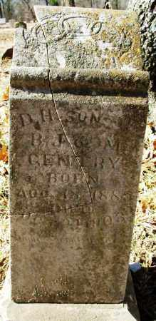 GENTRY, D. H. - Sebastian County, Arkansas | D. H. GENTRY - Arkansas Gravestone Photos