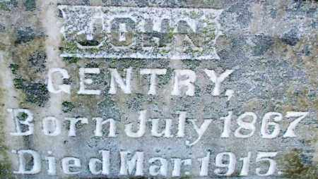GENTRY, JOHN - Sebastian County, Arkansas | JOHN GENTRY - Arkansas Gravestone Photos