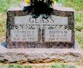 GLASS, BERTHA M. - Sebastian County, Arkansas | BERTHA M. GLASS - Arkansas Gravestone Photos