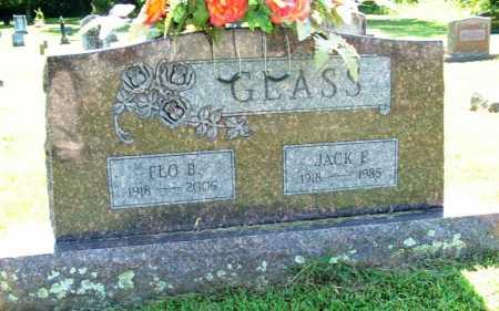 GLASS, JACK E. - Sebastian County, Arkansas | JACK E. GLASS - Arkansas Gravestone Photos