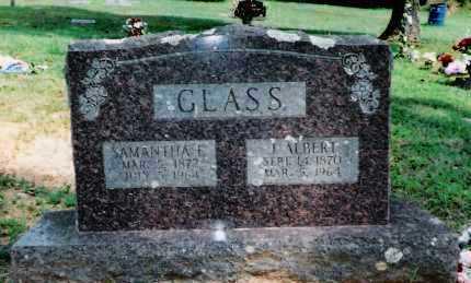 GLASS, J. ALBERT - Sebastian County, Arkansas | J. ALBERT GLASS - Arkansas Gravestone Photos