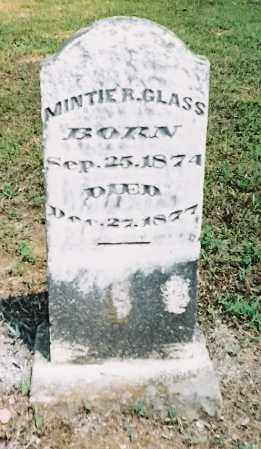 GLASS, MINTIE R - Sebastian County, Arkansas | MINTIE R GLASS - Arkansas Gravestone Photos