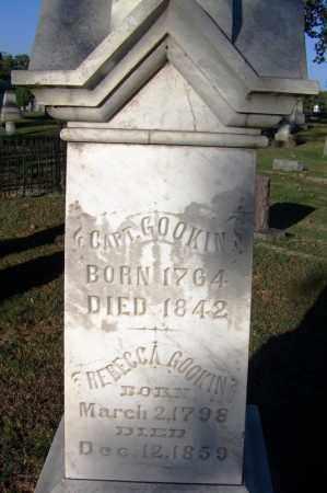 GOOKIN (VETERAN), NATHANIEL - Sebastian County, Arkansas | NATHANIEL GOOKIN (VETERAN) - Arkansas Gravestone Photos