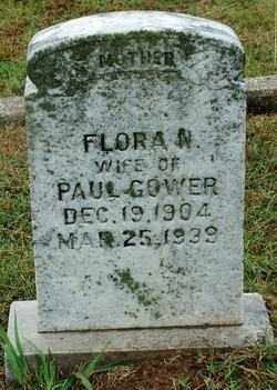GOWER, FLORA N. - Sebastian County, Arkansas | FLORA N. GOWER - Arkansas Gravestone Photos
