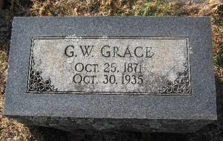 GRACE, G. W. - Sebastian County, Arkansas | G. W. GRACE - Arkansas Gravestone Photos
