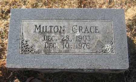 GRACE, MILTON - Sebastian County, Arkansas   MILTON GRACE - Arkansas Gravestone Photos